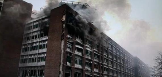 Havaintoja uudesta maailmanjärjestyksestä: Oslon virastorakennuksen pommi räjähti rakennuksen ...