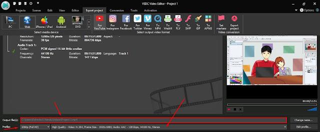 Tutorial Cara Menyimpan File Video Gratis di VSDC