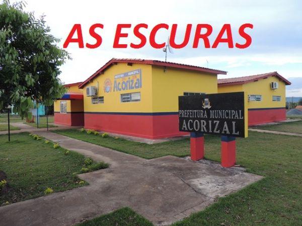 Prefeitura Municipal de Acorizal tem energia cortada