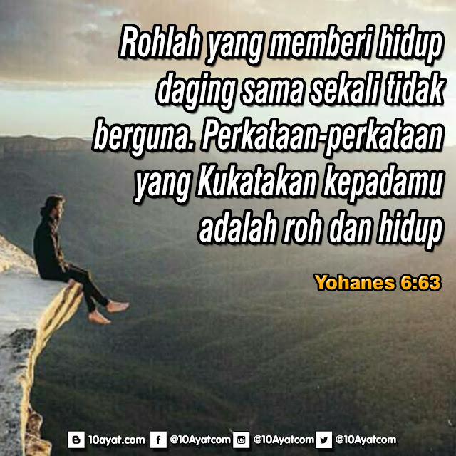Yohanes 6:63