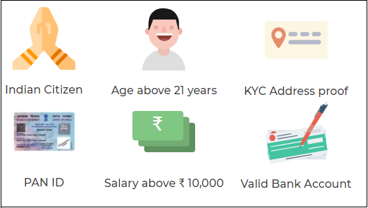 KreditBee Loan Application Eligibility Criteria