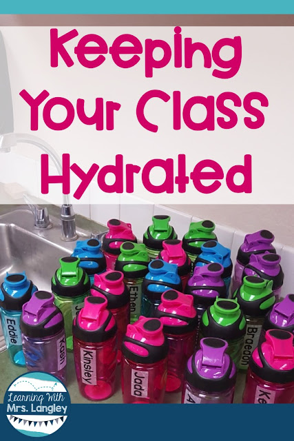 Here is a cheap classroom hack from the Dollar Store to DIY and hydrate your kiddos all year long.