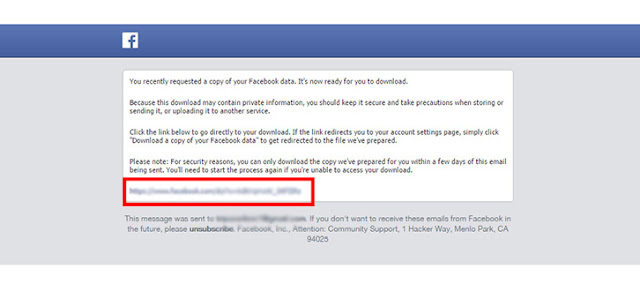 How to Download Complete Facebook Data