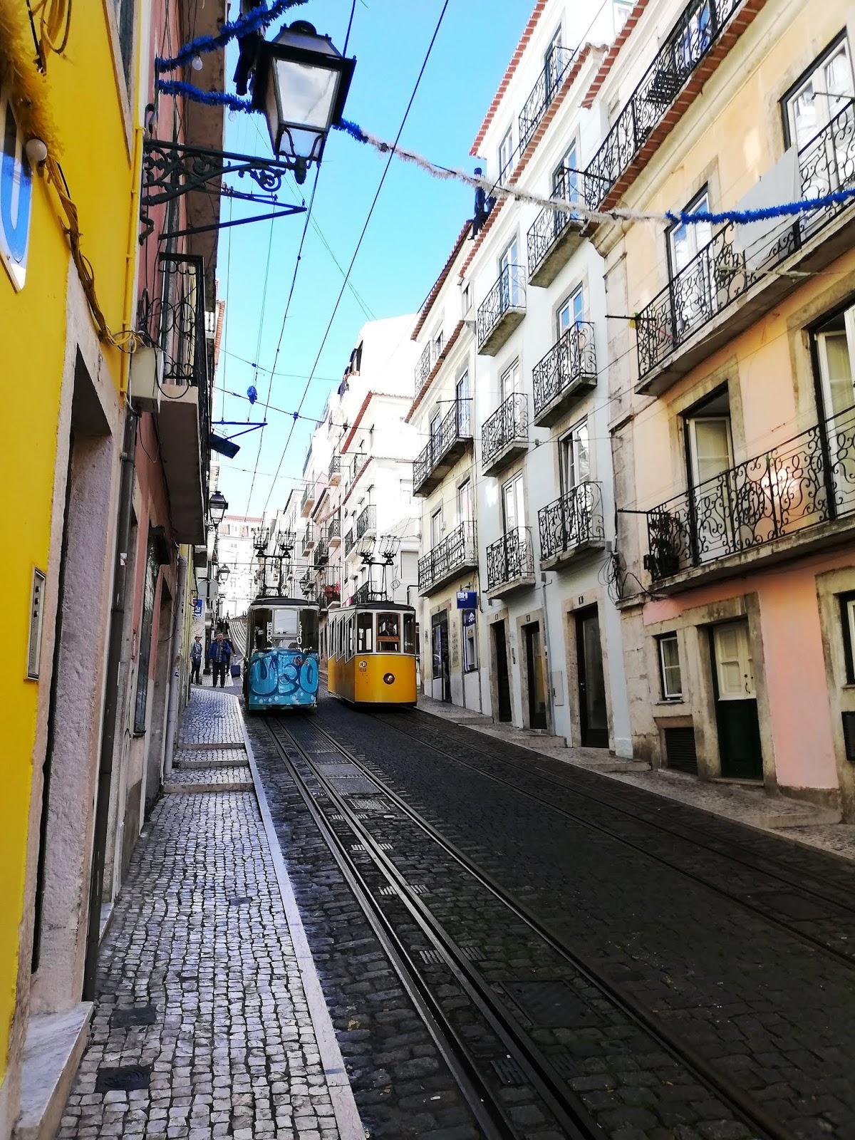 Funiculaire de Bica  Lisbonne