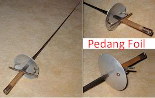 3 Jenis Pedang Anggar Foil, Epee dan Sabre