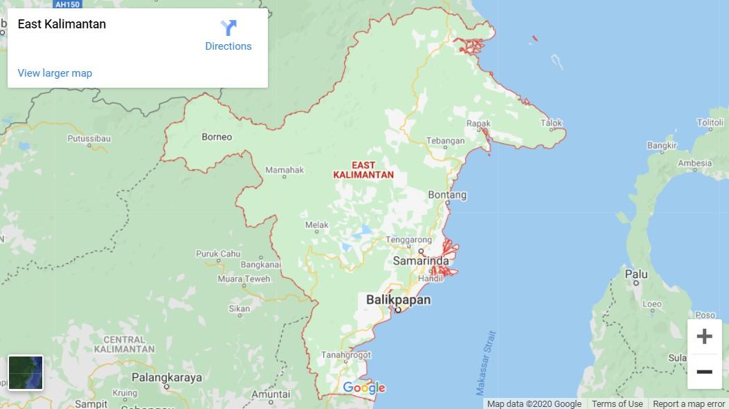 Kalimantan Timur daerah Asal Tari Gantar