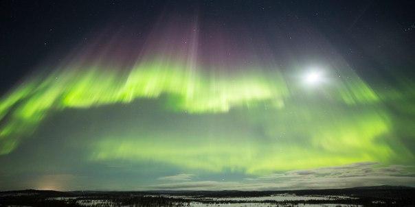 摩尔曼斯克,俄罗斯, 奥罗拉,北极光