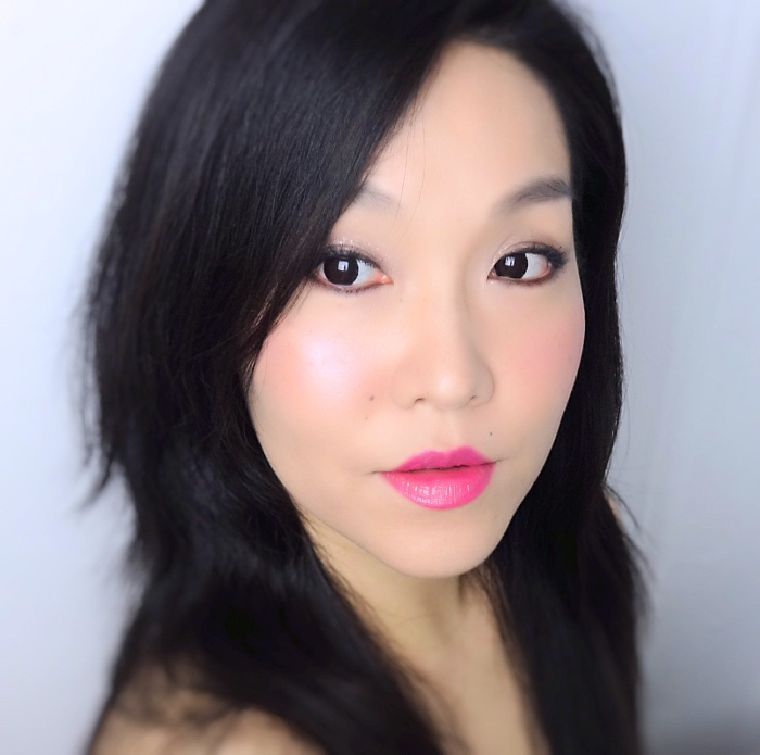 L'Oreal Infallible Lip Piants Fearless Fuchsia review swatch