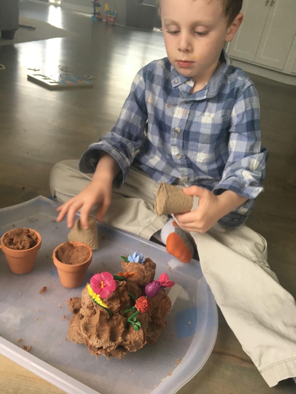 Garden Theme Preschool Play