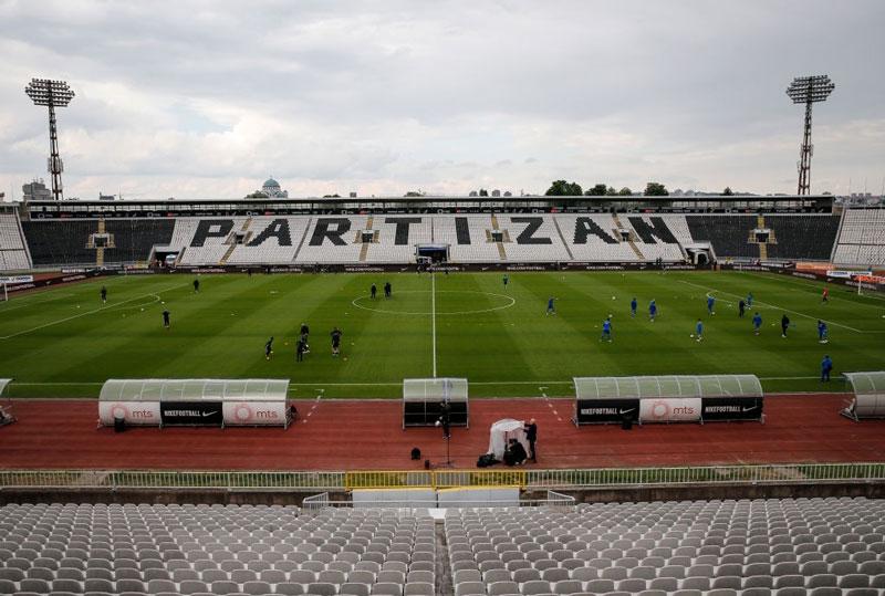 fk partizan mladost lucan superliga stadion humska jna