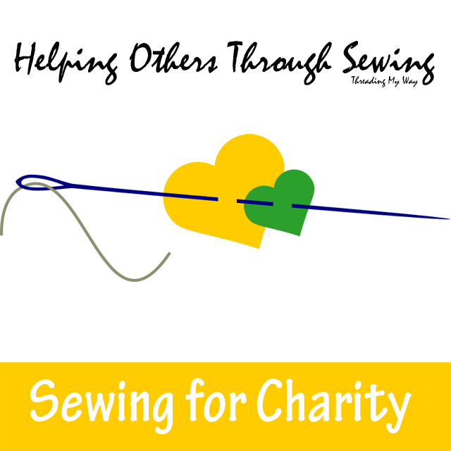 Helping Others Through Sewing... a list of charities that accept hand sewn projects in one form or another. Charity Sewing ~ Threading My Way