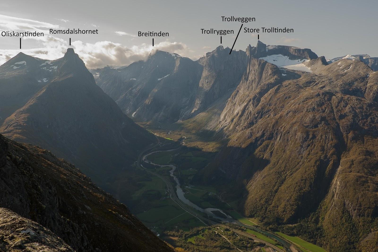 Geima Natur Romsdalseggen Normalruta Og Blanebba 1320 24 09 17