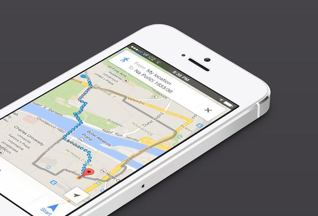 Google Maps para iOS suporta múltiplos destinos - MichellHilton.com