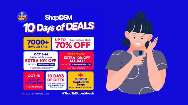 ShopSM October Super Month