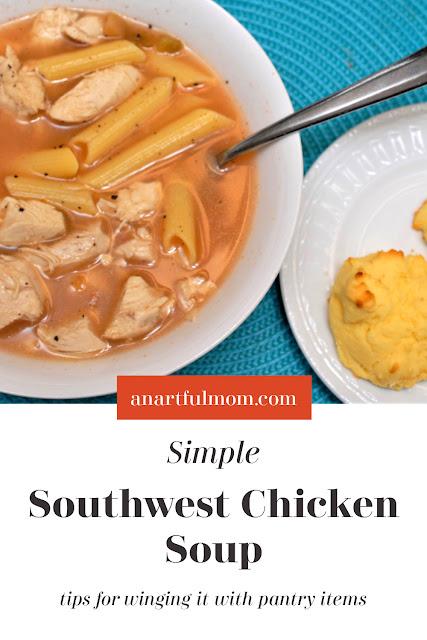 Easy Southwest Chicken Soup Recipe
