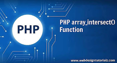 PHP array_intersect() Function