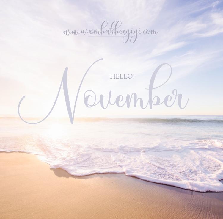 Hello! November.