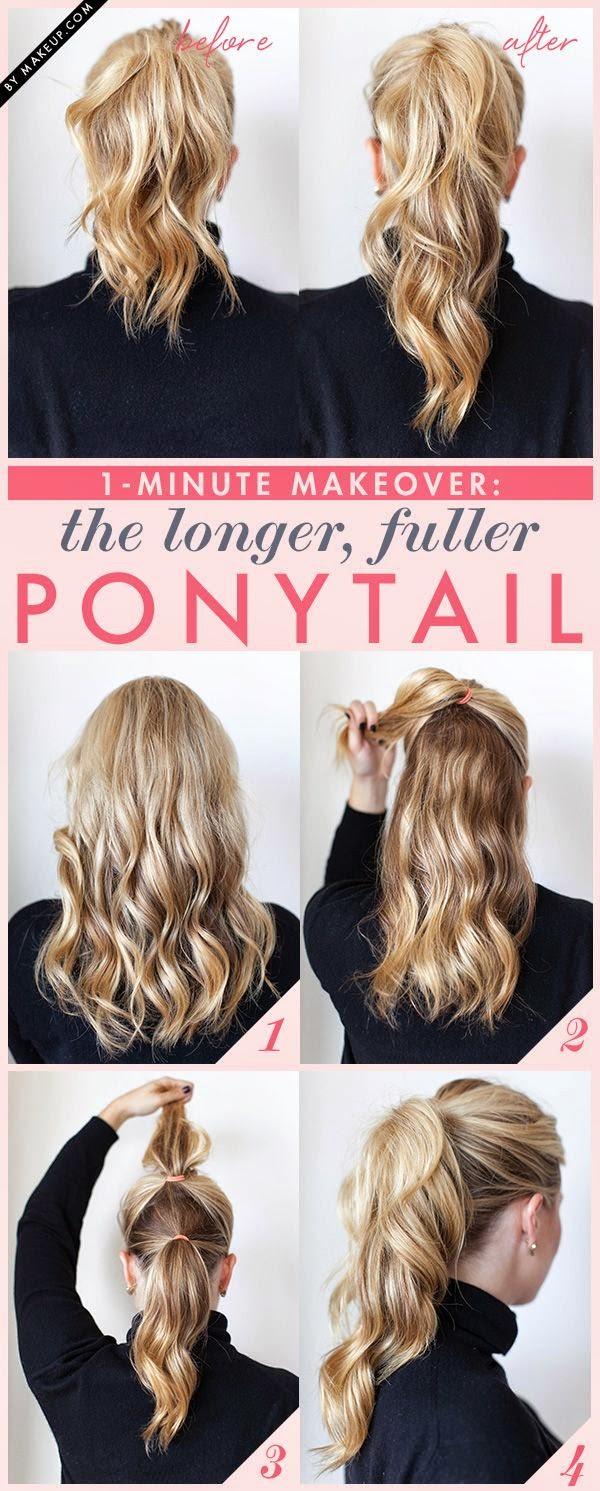 Tutorial Menata Rambut Panjang Dan Pendek Secara Mudah 11