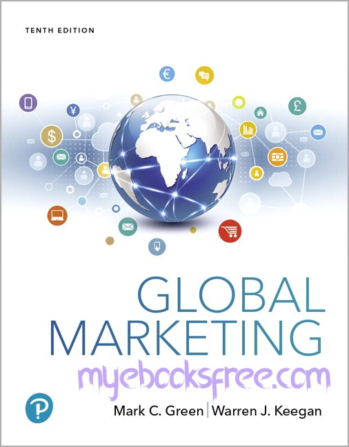 Global Marketing Pdf Book 10e by Green and Keegan (Global Edition)