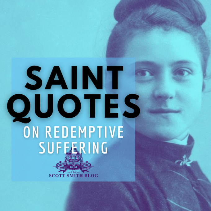 Top 10 Saint Quotes on Redemptive Suffering for Comfort During Tough Times