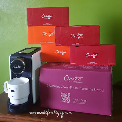 ARISSTO Italian Premium Coffee sedap dan lazat