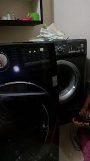 cara mengatasi kode error mesin cuci LG 1 tabung