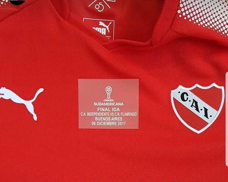 f11cfc024a Independiente divulga a camisa para a final da Copa Sul-Americana ...