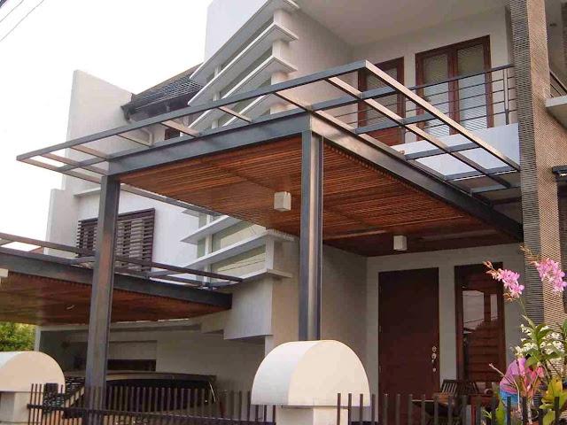 info Harga Kanopi Rumah Minimalis Terbaru 2016