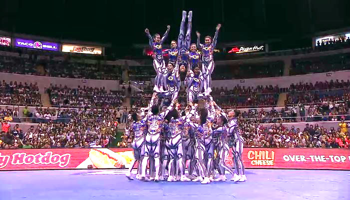 NU Pep Squad wins 4-peat in UAAP CDC 2016