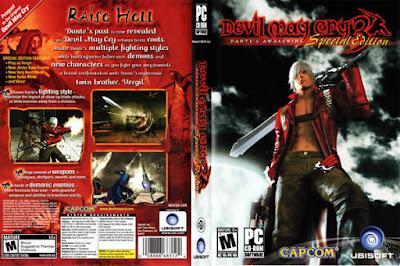 Descargar Devil May Cry 3 - Dante's Awakening para PlayStation 2 en formato ISO región NTSC y PAL en Español Multilenguaje Enlace directo sin torrent. Es un videojuego hack n' slash de acción y aventura perteneciente a la franquicia de Devil May Cry. El juego fue publicado por Capcom en el año 2005 para PlayStation 2 y luego portado para PCen 2006. Se hizo un remake del juego en el año 2012, que esta disponible en el pack de Devil May Cry: HD Collection para la PlayStation 3 y Xbox 360.