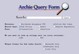 Search engine pertama kali