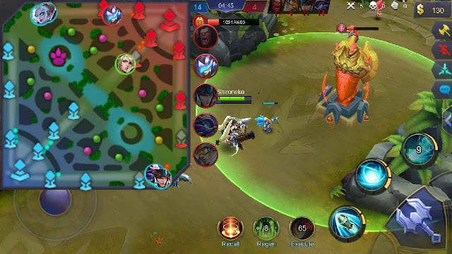 cheat mobile legend map android tanpa root