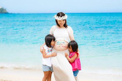 沖縄 マタニティフォト ビーチ 写真撮影 格安