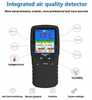integrated air quality detector_Air Quality Detector 8 in 1