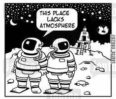 Moon Landing Pun