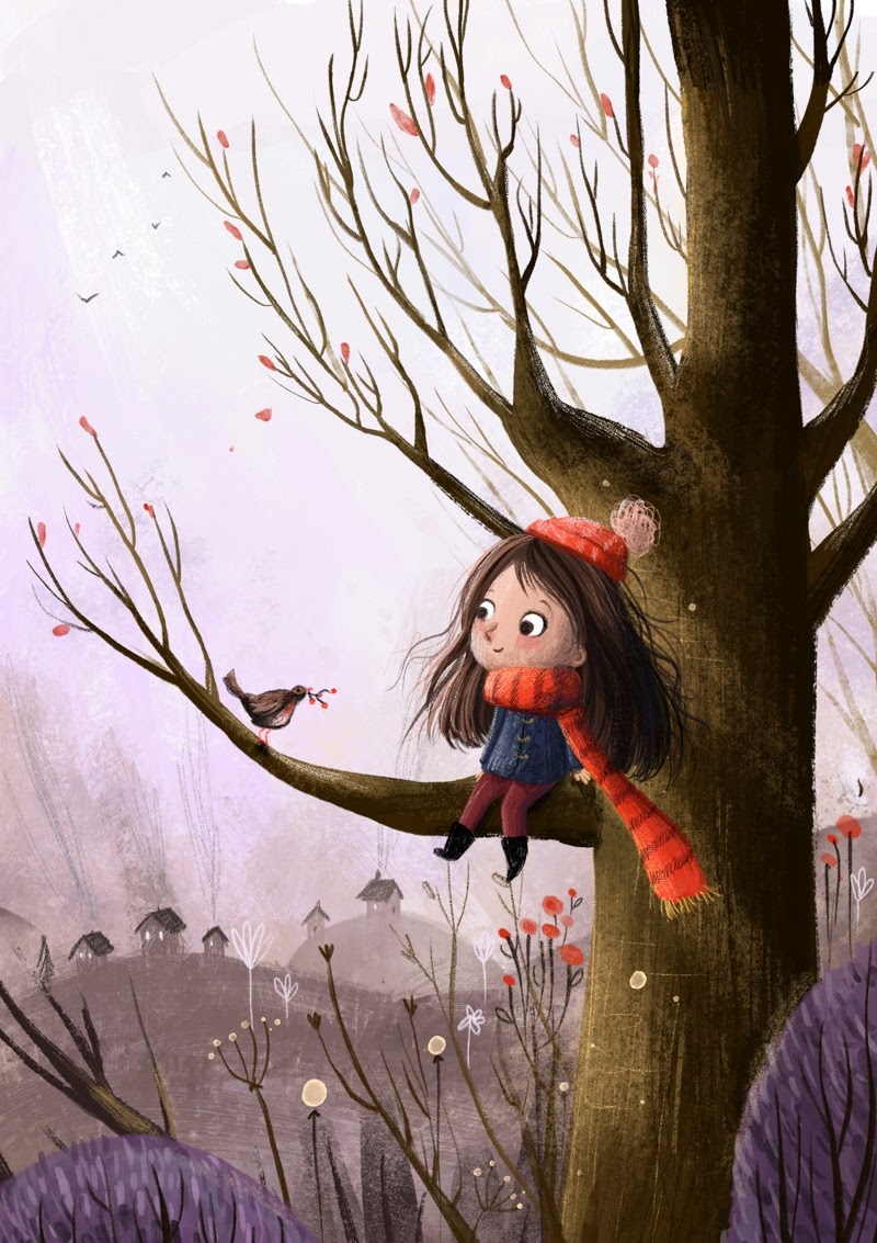 Illustrations from Lucy Fleming from UK.