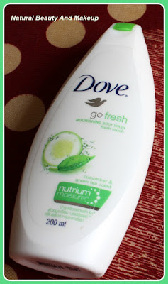 Dove go fresh body wash