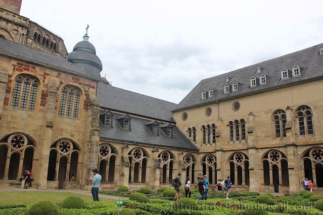 Trier Cathedral of St.Peter Cloister UNESCO Germany