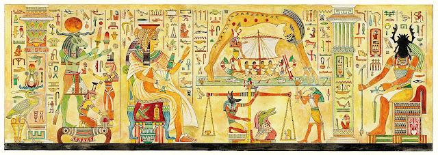 نظام الحكم والإدارة في حضارة مصر القديمة