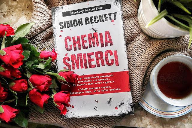"""Simon Beckett """"CHEMIA ŚMIERCI"""", wyd. Amber"""