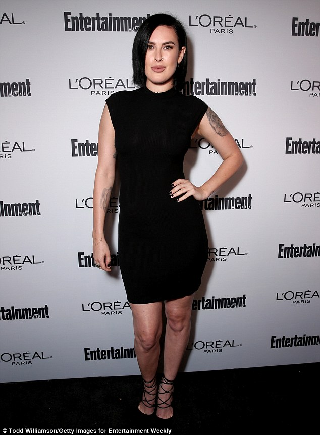 Rumer Willis vamps it up for the Pre-Emmys Bash in LA