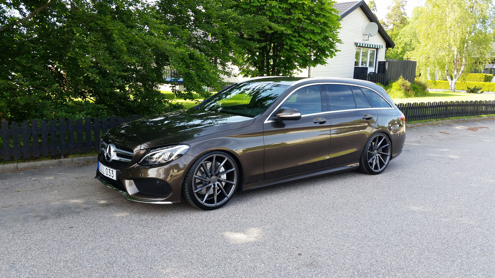 mercedes benz s205 on r20 vossen cvt rims benztuning. Black Bedroom Furniture Sets. Home Design Ideas