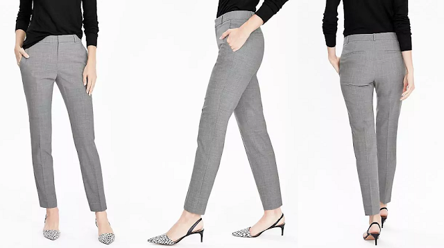 Banana Republic Ryan-Fit Lightweight Wool Pant $39 (reg $98)