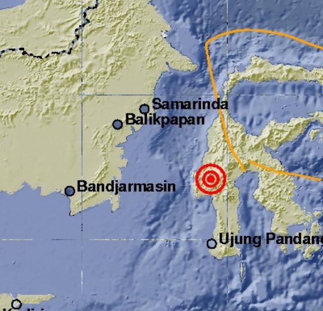 Gempa 5.1 SR di Kedalaman 7 KM, Hujan Lebat Masih Terus Mengguyur