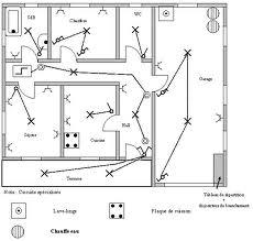 plan electrique de maison. Black Bedroom Furniture Sets. Home Design Ideas