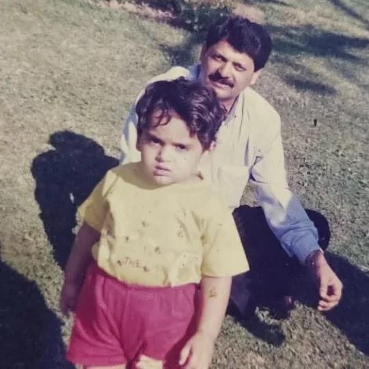 Naman Mathur with his father Sandeep Mathur