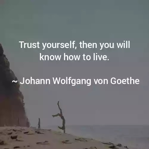 goethe quotes in english