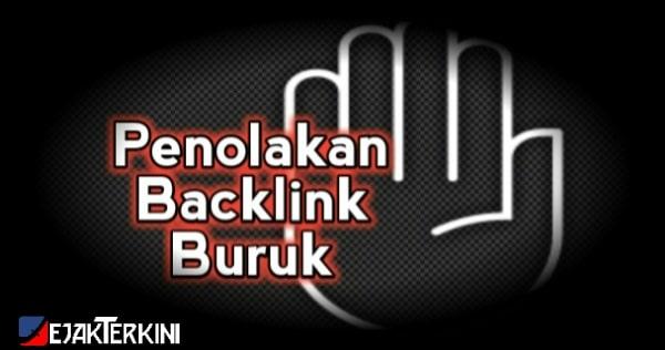 cara menghapus backlink spam via google disavow