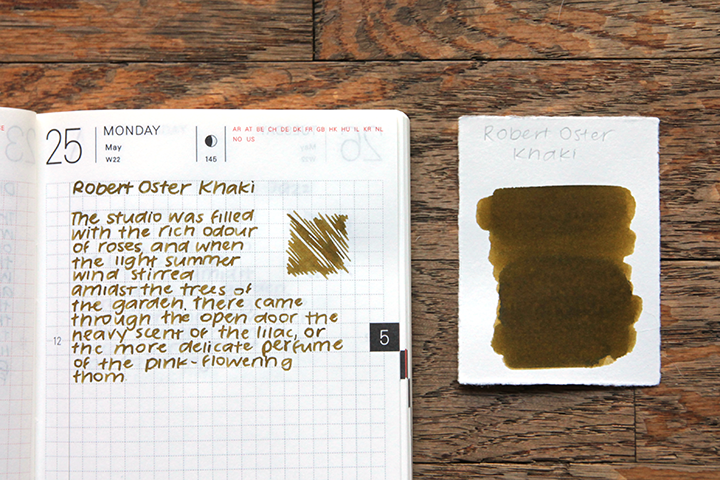 review: robert oster signature khaki