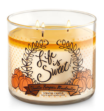 Vanilla Pumpkin Marshmallow Bath & Body Works